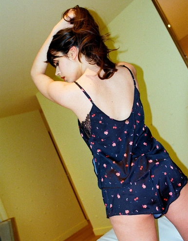 lingerie short Charlie Cherry Griotte Dot 25 € Girls In Paris photo 1