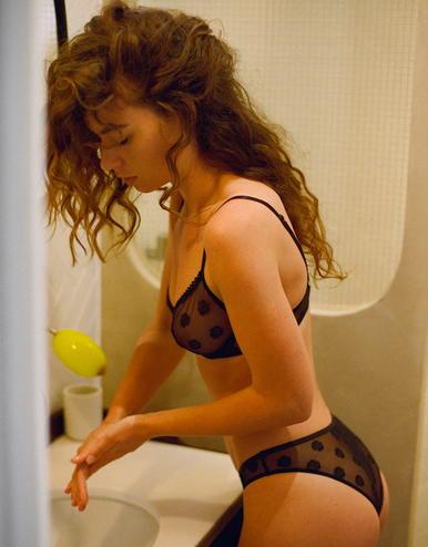 lingerie culotte Daisy Noir Forever 26 € Girls In Paris photo 1