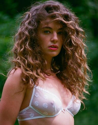 lingerie soutien-gorge avec armatures Daisy Blanc Virgin 44 € Girls In Paris photo 2