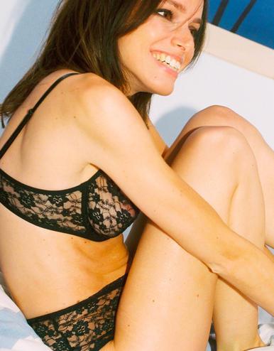 lingerie soutien-gorge avec armatures Vesper Noir Storm 39 € Girls In Paris photo 2