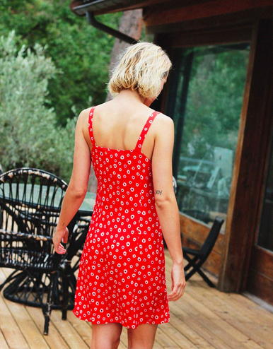 lingerie dress Garden Raquel Red 55 € Girls In Paris photo 2