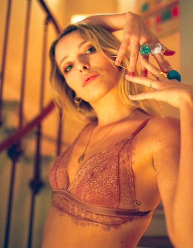 lingerie soutien-gorge sans armatures Charlie Pink Sparkle 34 € Girls In Paris photo 1