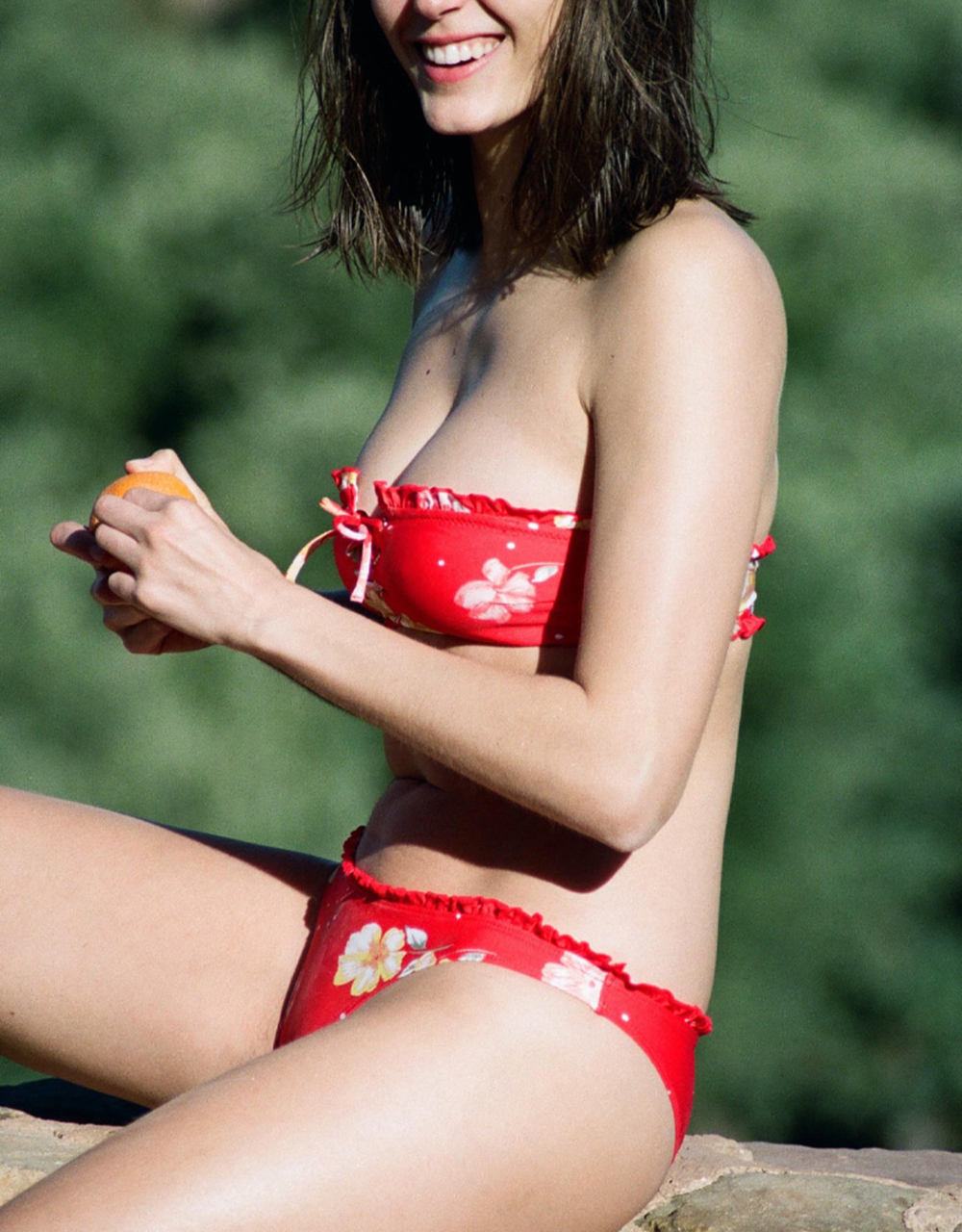 swimsuit bikini top Sixtease Red 35 € Girls In Paris photo 4