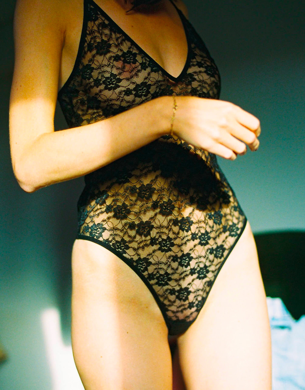 lingerie body Vesper Black Storm 49 € Girls In Paris photo 2