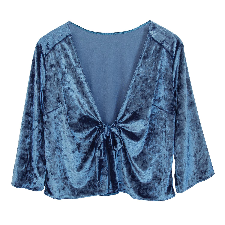 lingerie shirt Blue Velvet Blue Owl 39 € Girls In Paris photo 5