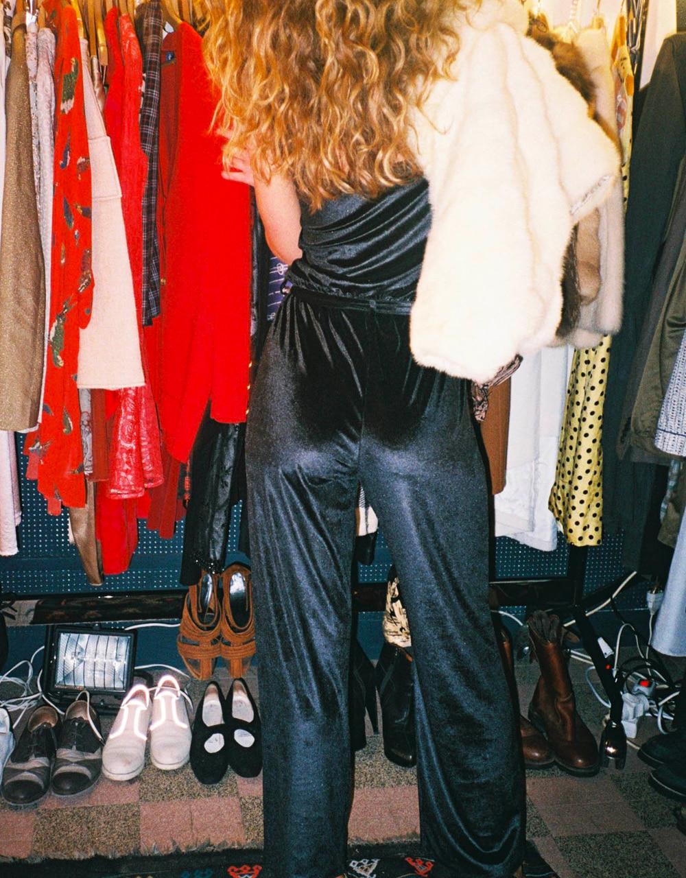 lingerie jumpsuit Charlie velvet Black Storm 59 € Girls In Paris photo 5