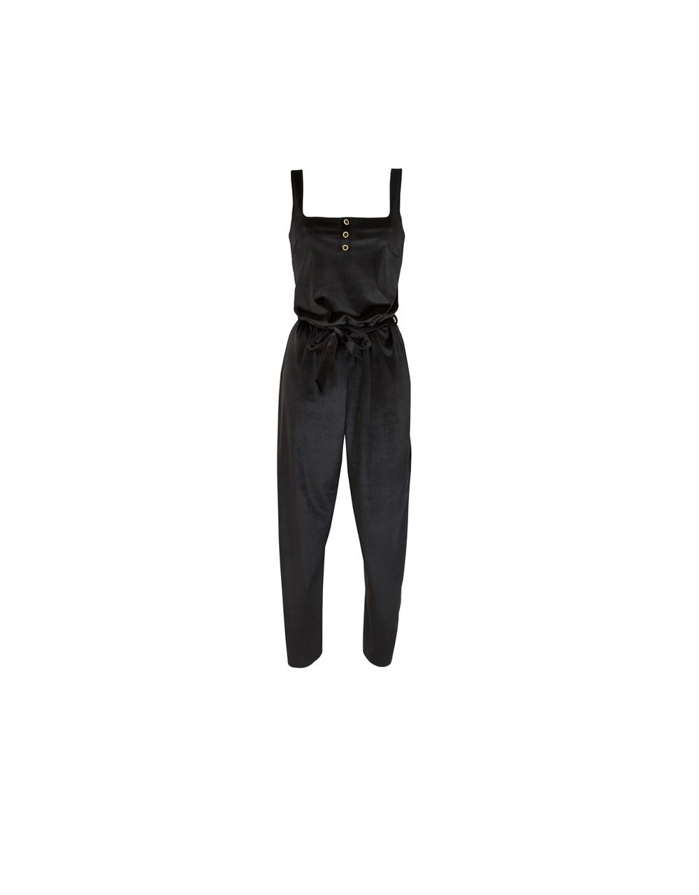 lingerie jumpsuit Charlie velvet Black Storm 59 € Girls In Paris photo 6