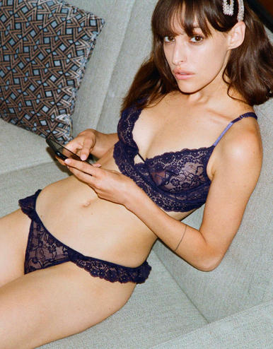 lingerie knickers Birdie Midnight Blue 20 € Girls In Paris