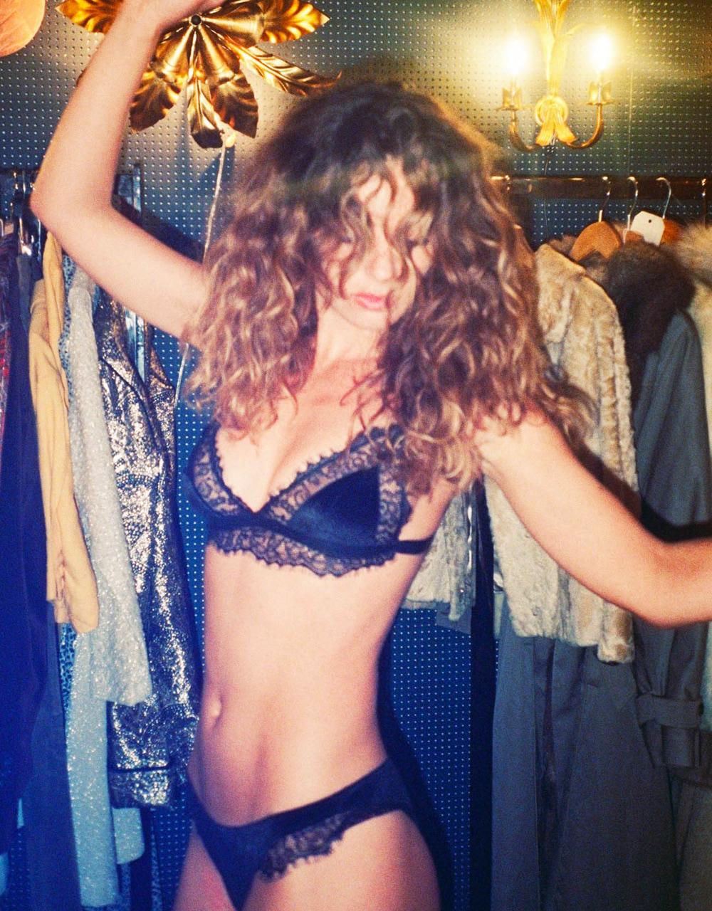 lingerie culotte Charlie velours Noir Storm 19 € Girls In Paris photo 3