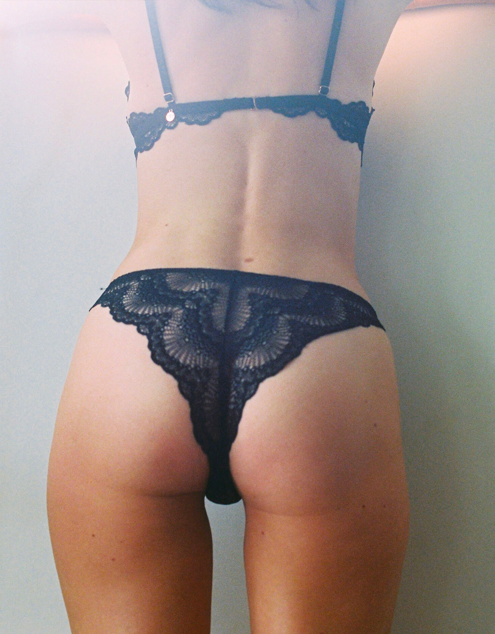 lingerie culotte Kate Digital black 25 € Girls In Paris photo 2
