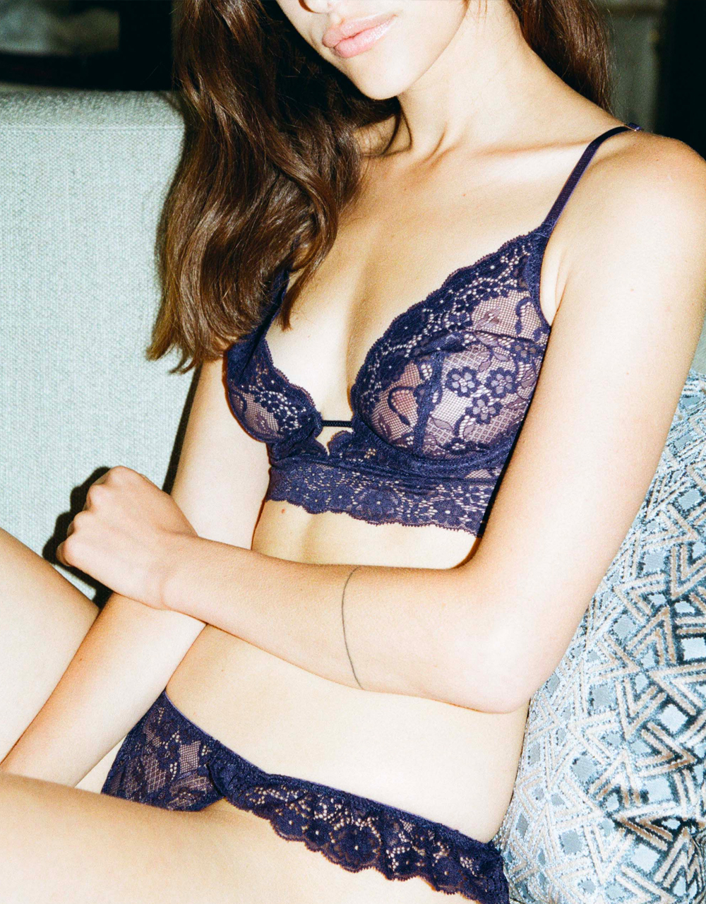 lingerie culotte midnight blue Birdie Midnight Blue 20 € Girls In Paris photo 3
