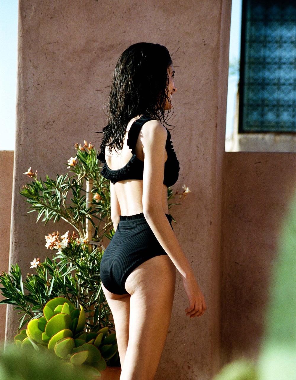 swimsuit high waist bikini bottom South Forever Black 30 € Girls In Paris photo 3