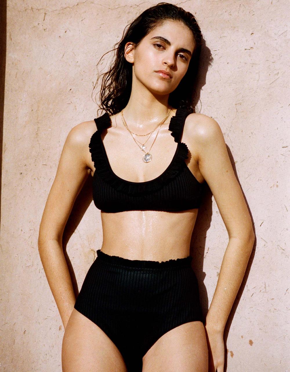 swimsuit high waist bikini bottom South Forever Black 30 € Girls In Paris photo 4