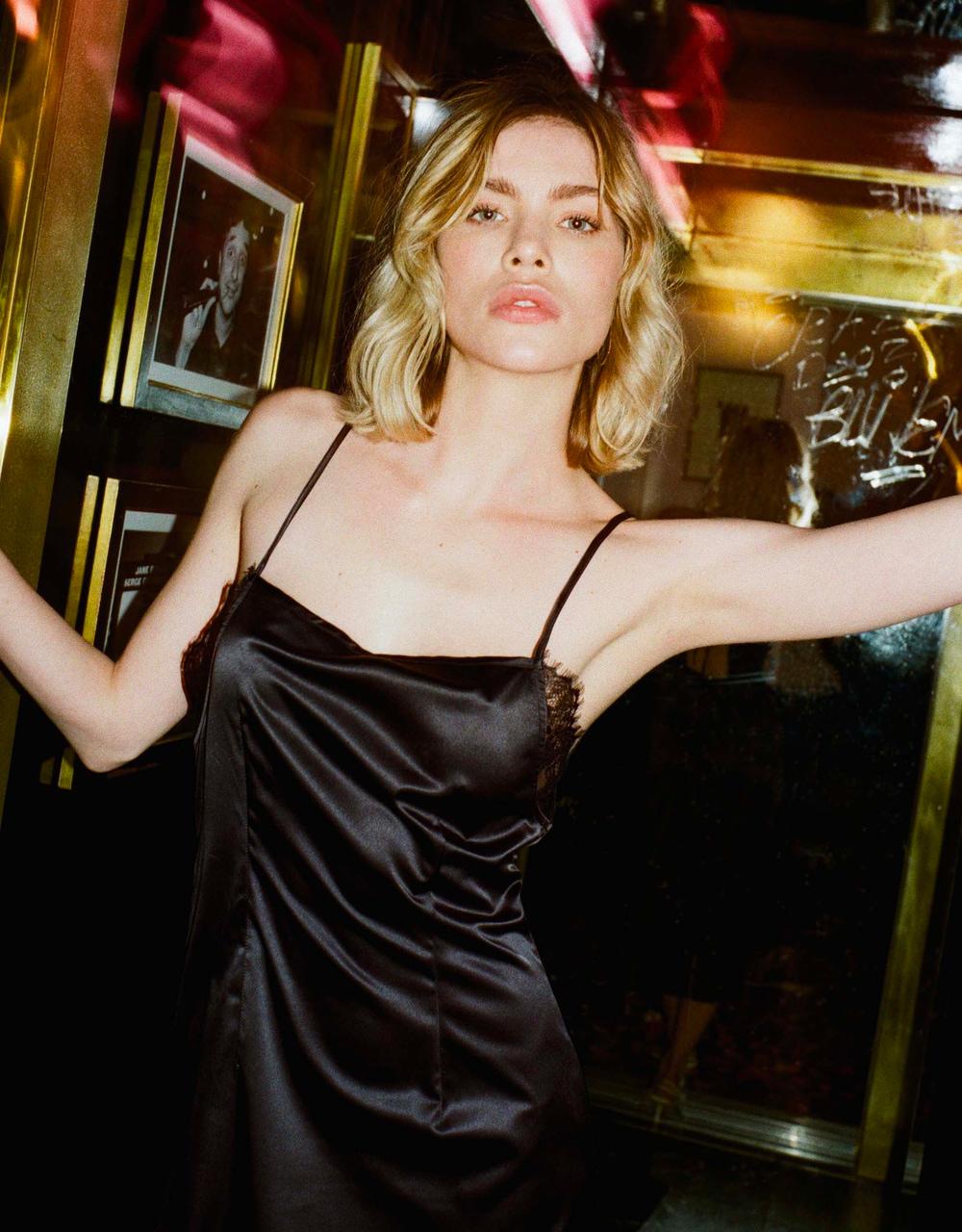 lingerie  Charlie Dress Noir Storm 45 € Girls In Paris photo 3