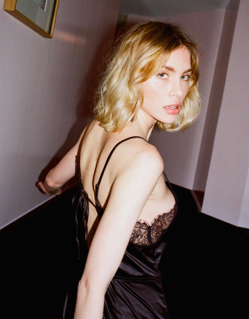 lingerie  Charlie Dress Noir Storm 45 € Girls In Paris photo 5