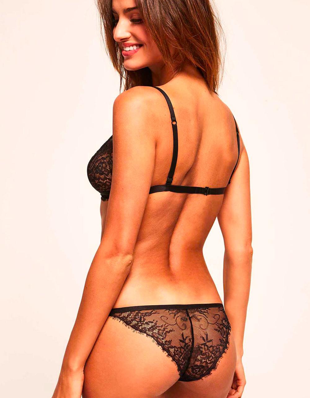 lingerie set culottes Charlie Noir/chair 19 € Girls In Paris photo 5