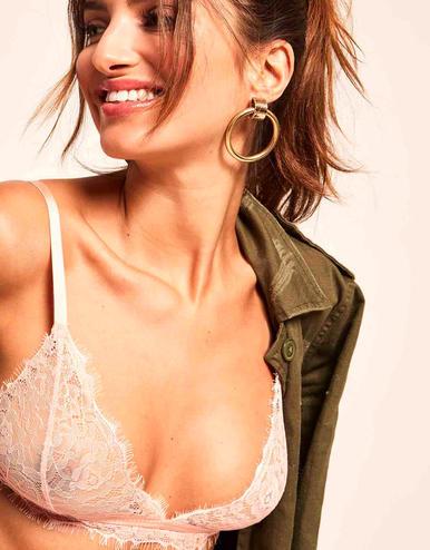 lingerie set de soutiens-gorge sans armatures Charlie Noir/chair 39 € Girls In Paris