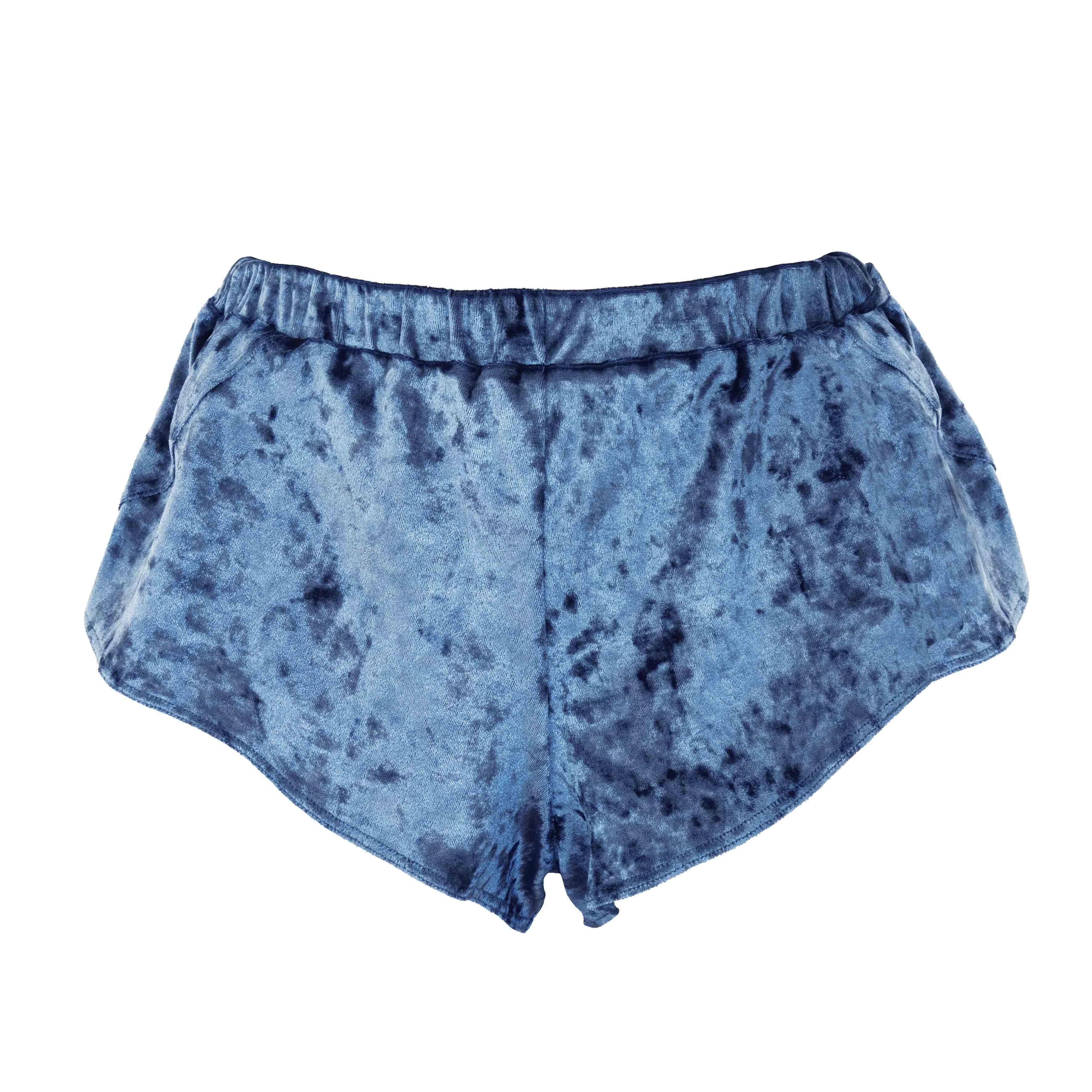 lingerie short Blue Velvet Blue Owl 25 € Girls In Paris photo 3