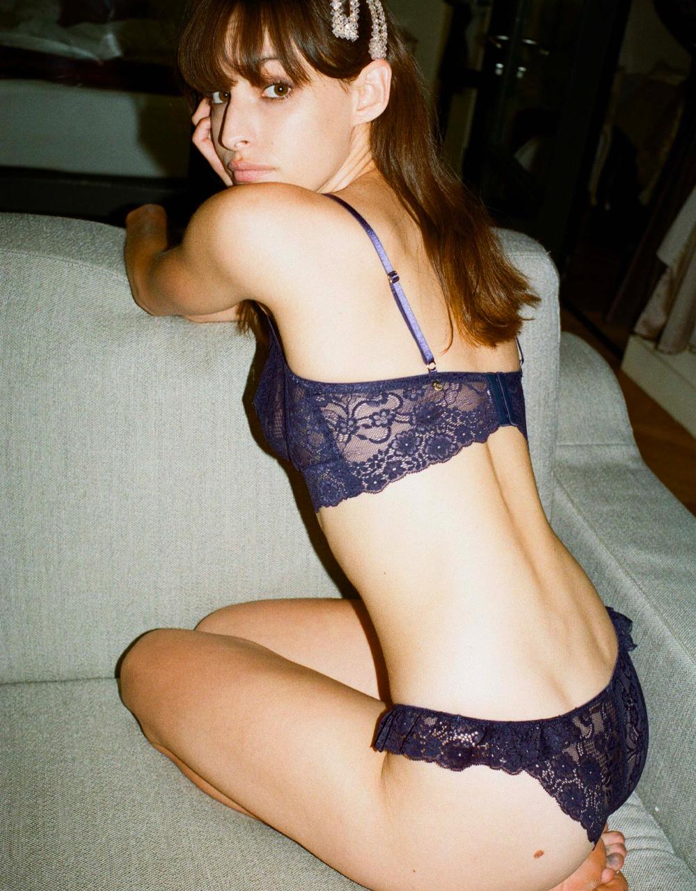 lingerie bra with underwires Birdie Midnight Blue 39 € Girls In Paris photo 3
