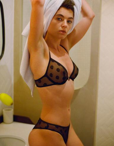lingerie soutien-gorge avec armatures Daisy Noir Forever 44 € Girls In Paris