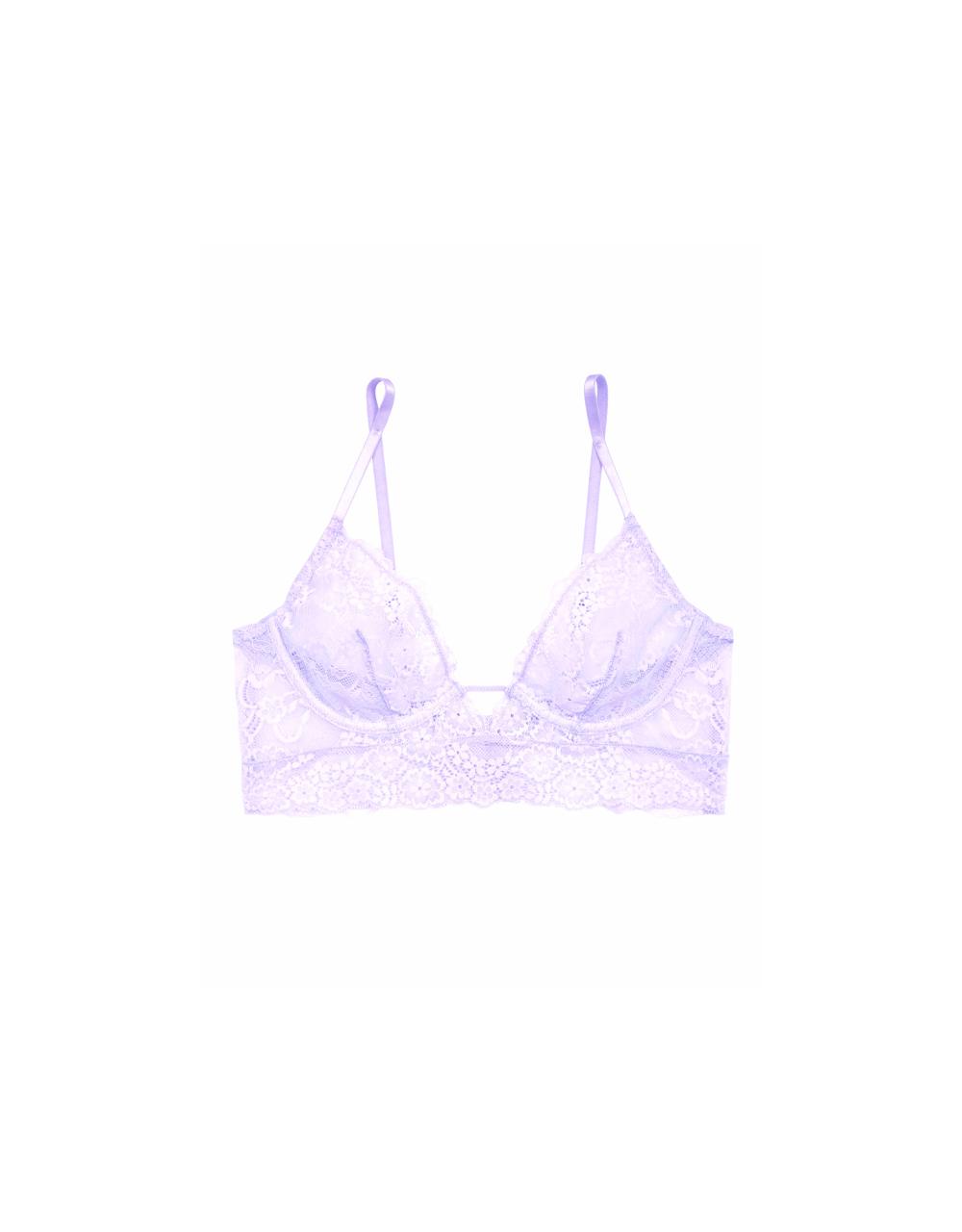 lingerie soutien-gorge avec armatures just lilas Birdie Just Lilas 39 € Girls In Paris photo 5