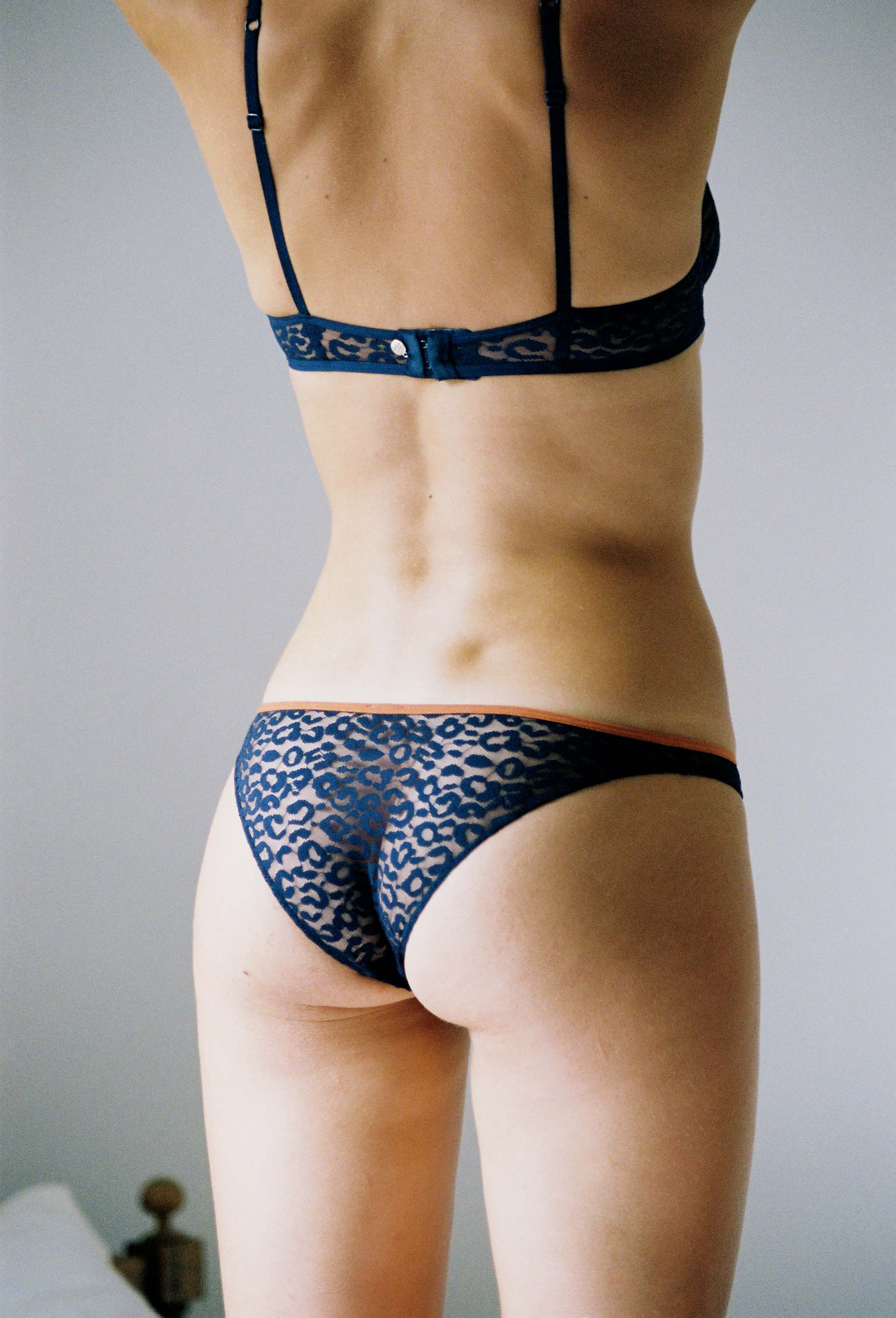 lingerie bra with underwires Milano Blue Dark 39 € Girls In Paris photo 3