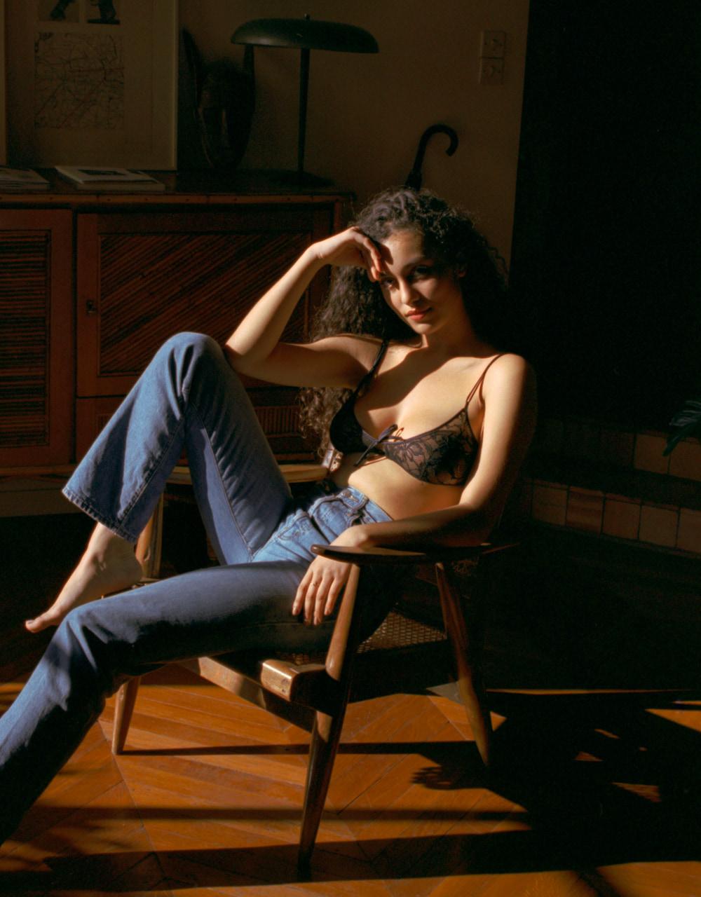lingerie soutien-gorge sans armatures Black Tie Noir Forever 32 € Girls In Paris photo 3