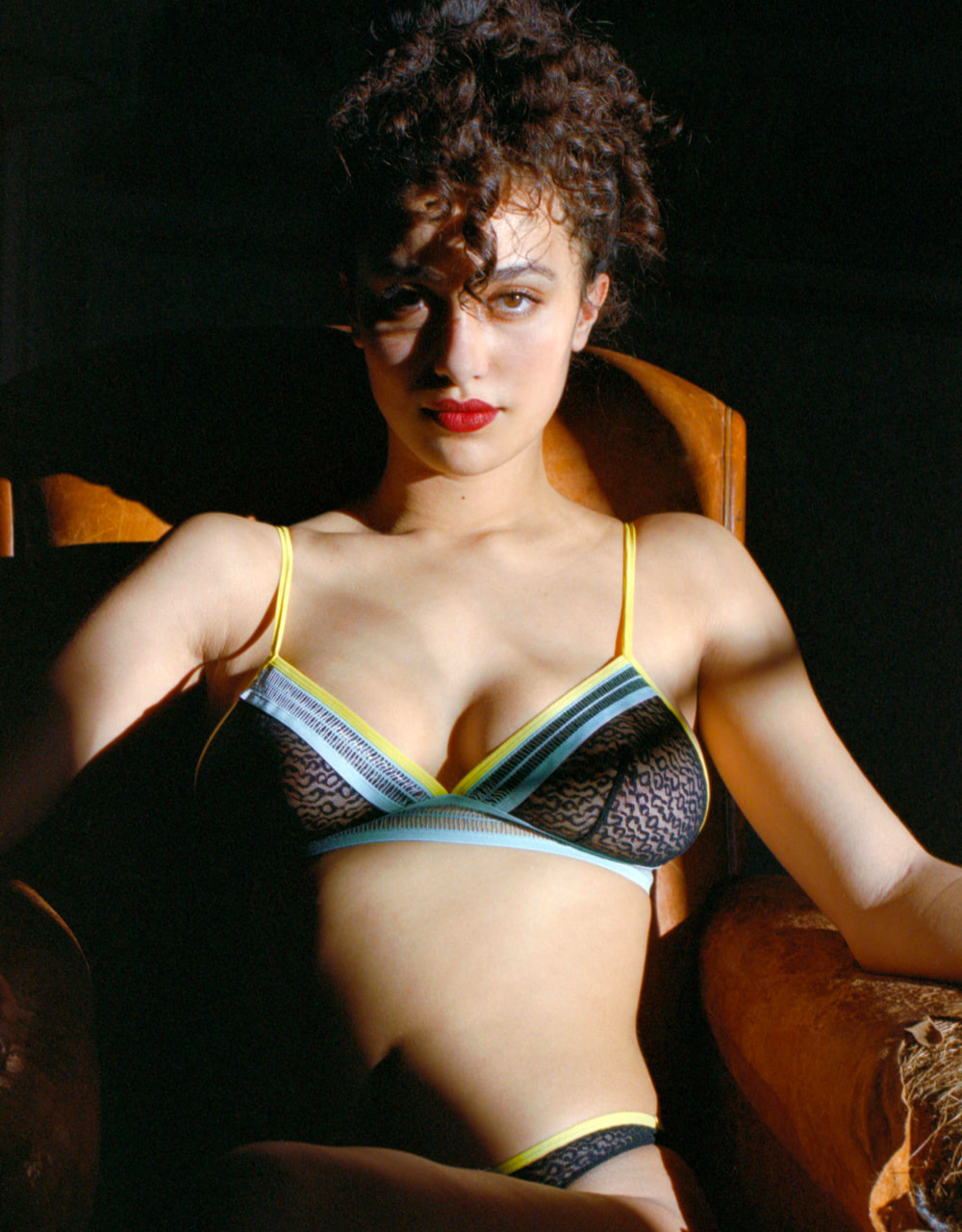 lingerie bra without underwires Imani Neon Dream 32 € Girls In Paris photo 1