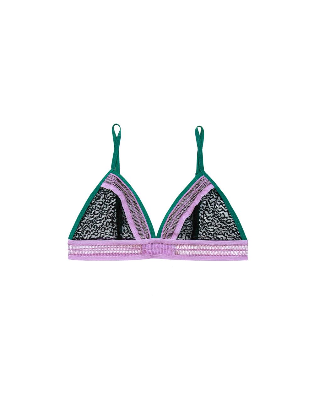 lingerie bra without underwires Imani Pink Prairie 32 € Girls In Paris photo 5