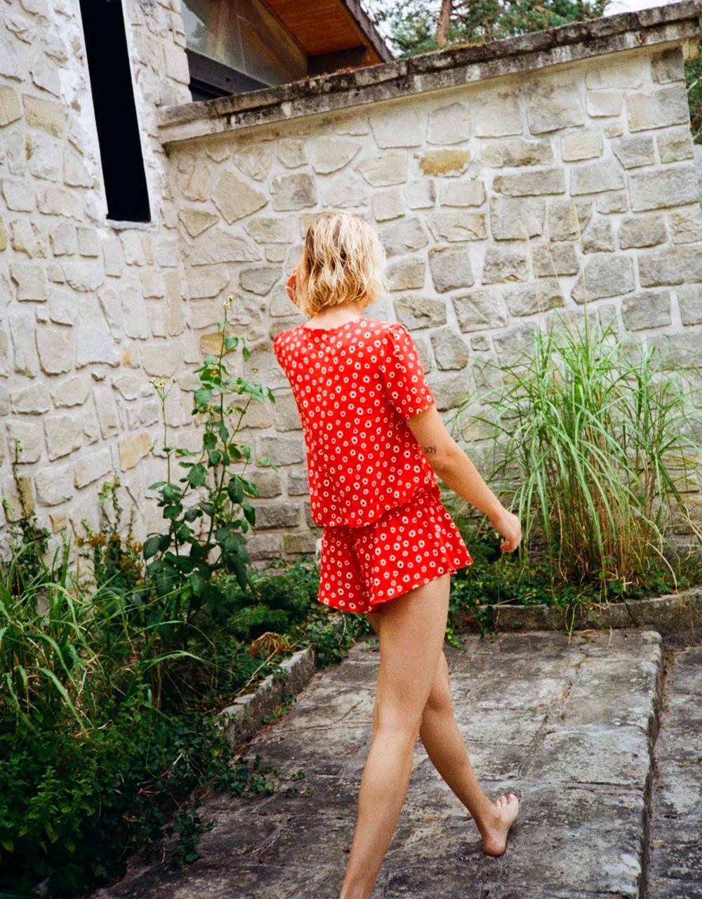lingerie top Garden Raquel red 45 € Girls In Paris photo 3