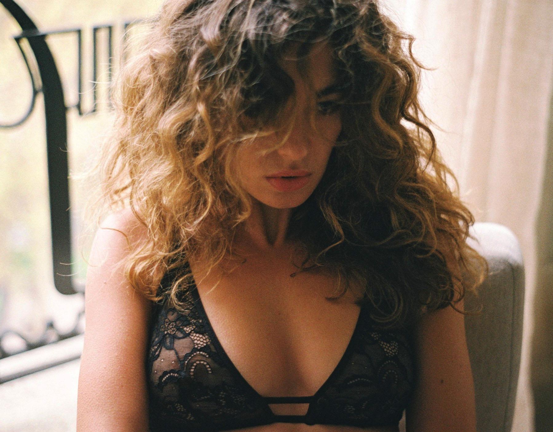 lingerie soutien-gorge sans armatures Vesper Noir Storm 34 € Girls In Paris