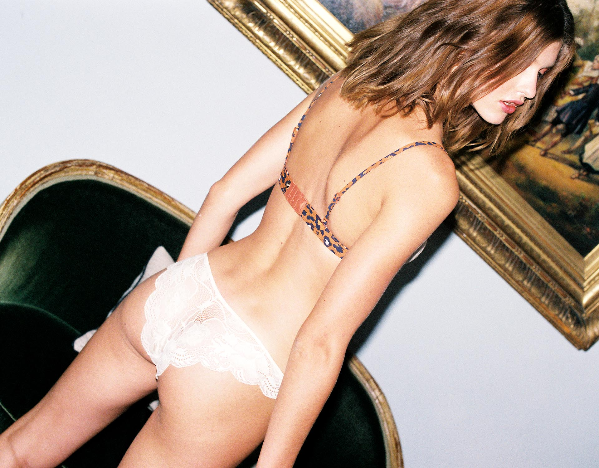 lingerie bra without underwires Spice Mush 32 € Girls In Paris photo 6