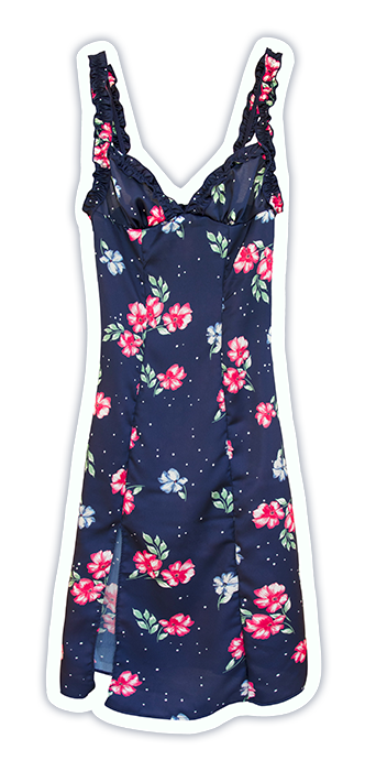 lingerie dress Marmont Gosip Blue 45 € Girls In Paris sticker